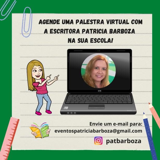 Convite palestra virtual escolas